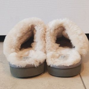 UGG Shoes - UGG Cozy Knit Genuine Shearling Slippers